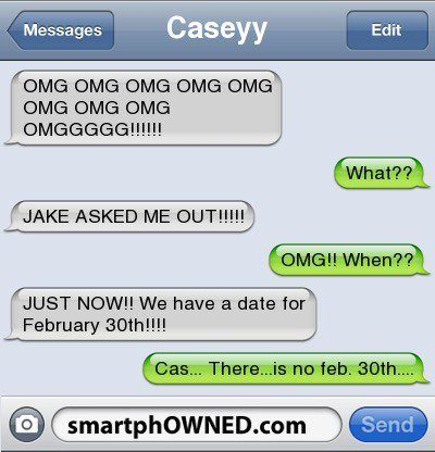 Funny text – Jake asked me out