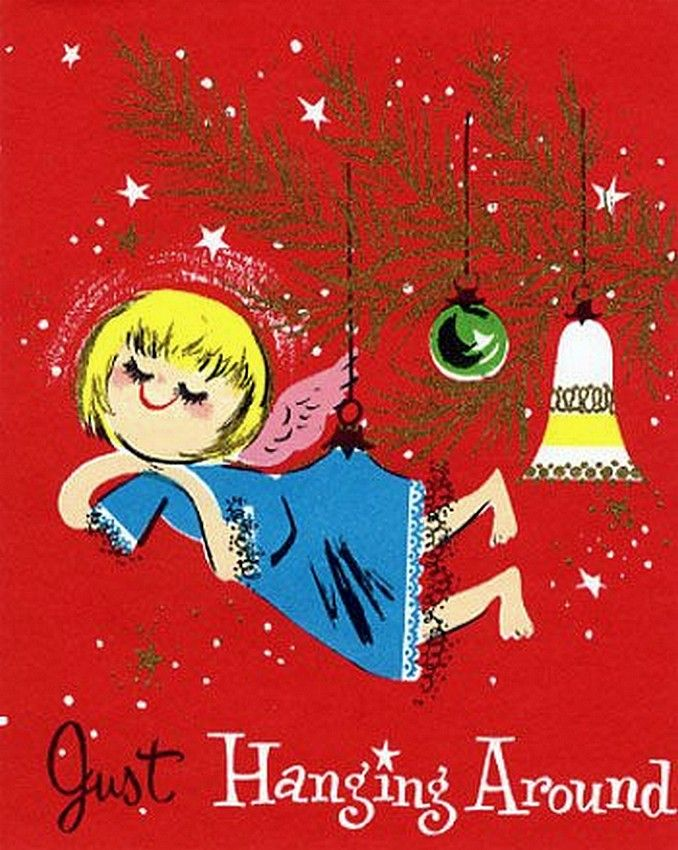 338 best Old Christmas Post Cards — Angels images on Pinterest ...