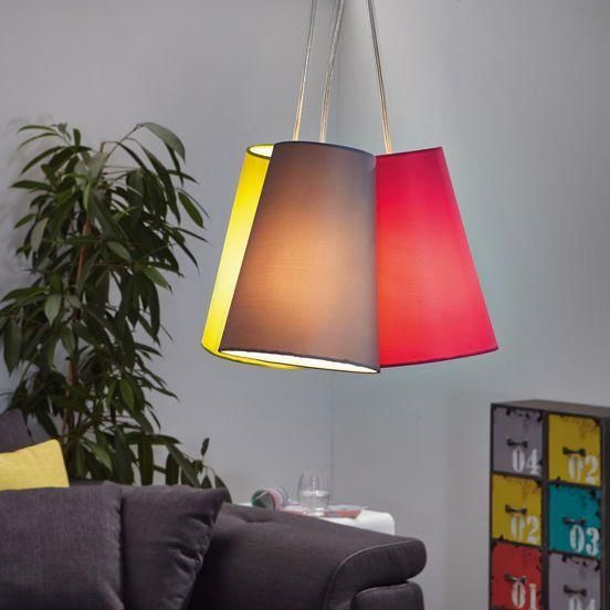 The Nevorres Triple Shade Pendant Light is a modern looking light with a  unique design. This light is made