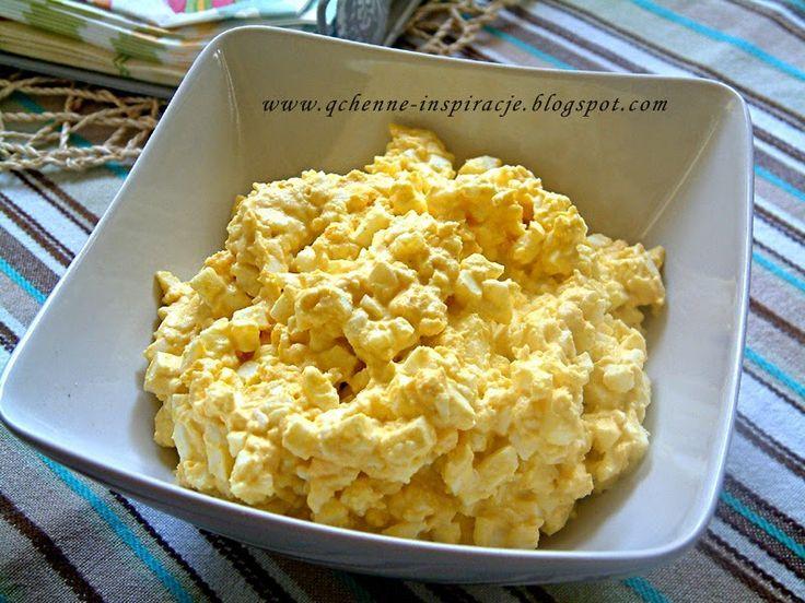 Qchenne-Inspiracje! Jak schudnąć bez jojo. Jak leczyć się dietą. : Przepisy FIT: Pasta jajeczna bez majonezu i parę słów o jajku