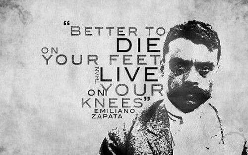 Emiliano Zapata Quotes Fair 9 Best Emiliano Zapata Images On Pinterest  Mexican Revolution