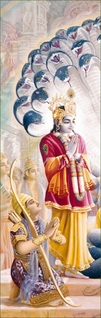 "Lord Krishna & Arjuna - major players in the Epic story Mahabarata - Chapter called the Bhavagad Gits""Song of God"""
