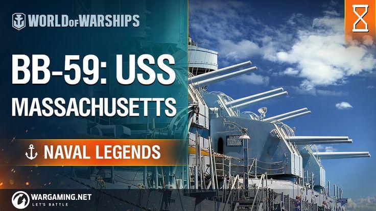 Naval Legends: USS Massachusetts