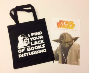 Enter to win an exclusive Star Wars™ tote bag and audiobook poster | Books on Tape