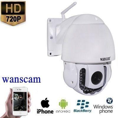 WIFI PTZ Dome IP Camera HD 3x Zoom  Spysecurityshop.nl biedt u een bewakingscamera aan met een uitzonderlijke zicht van een hoge beeldkwaliteit. Dit is een zeer professionele bewakingscamera die voor buiten te gebruiken is. Met uitstekende beeldkwaliteit en zeer gebruiksvriendelijke in gebruik.Deze bewakingscamera heeft een resolutie van 1MP 1280x720 en juist door deze resolutie heeft u een prachtig beeld. De bewakingscamera heeft een goede zicht tot wel 50 meter. Tevens is de camera…