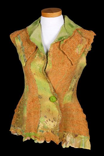 Felt and Silk Art / Felt Jackets