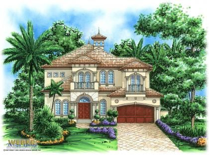 Cilento Home Plan Two Story Home Plans Our House Pinterest Florida Houses Smallest House