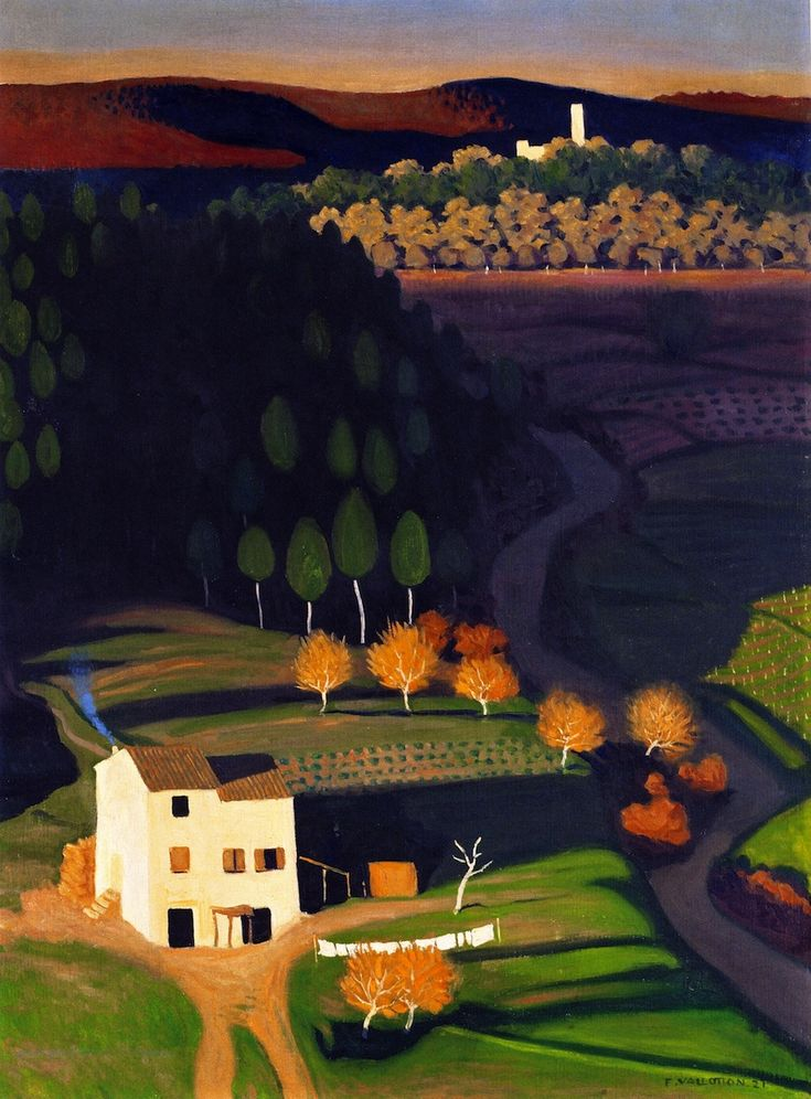 Félix Vallotton (Swiss, 1865-1925), First Rays, 1921, oil on canvas, 81.5 x 60.5 cm, private collection