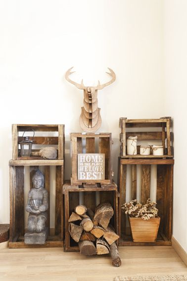 1000 images about muy home on pinterest posts mantels - Muy mucho cajas ...
