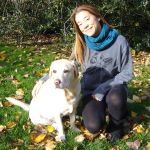 Alfie is Emma's dog - a constant source of inspiration for her designs. www.emmanissim.com