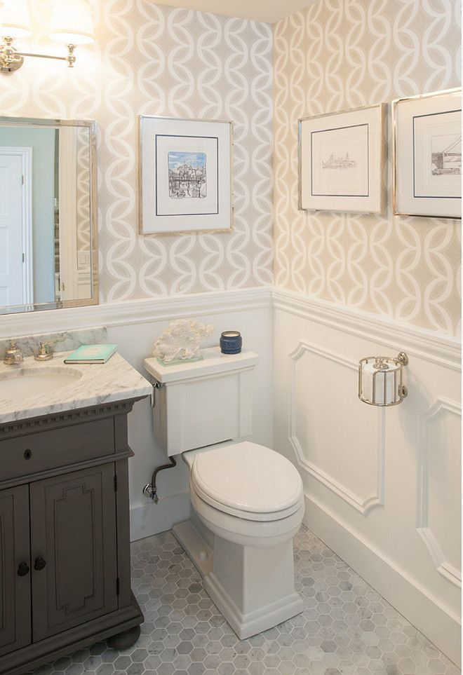 ideas about small bathroom wallpaper on, Home design