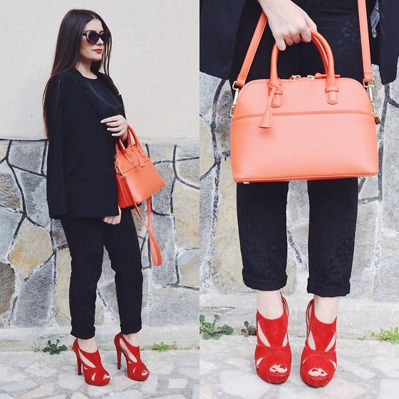 Gizem Bulut - Zar Handbag, H&M Sunglasses - Colors of Sunset