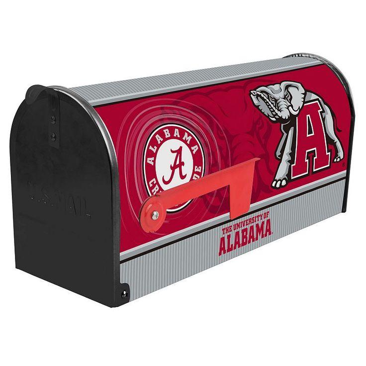Alabama Crimson Tide Mailbox, Multicolor