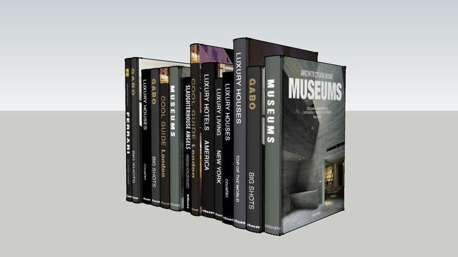 Books dark - 3D Warehouse
