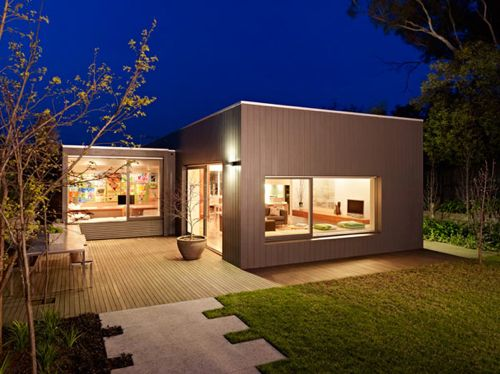 Orchard Crescent House by Neil Architecture - this house is wonderful; looks expansive even with small square footage.