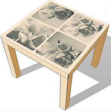 Furniture Sticker RETRO FLOWERS by Sticky!!!