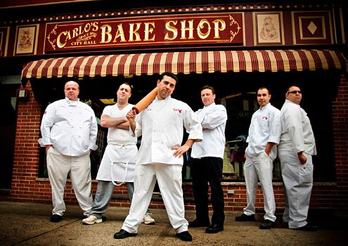 """TV Guide """"Cake Boss"""" promo photo.  More of my cake photos and videos can be seen on www.facebook.com/thepastryarch and twitter.com/ThePastryarch. I can also be seen on season 1 of """"Cake Boss""""."""