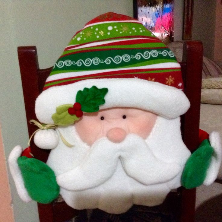 Cubre silla navideño