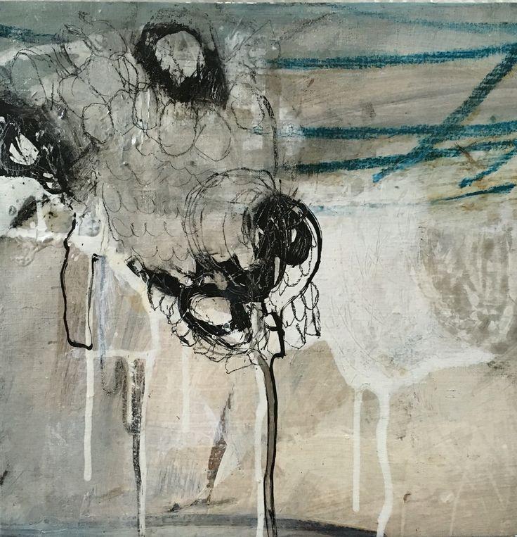 William Cokeley 2012/2015 Acrylic, graphite on linen