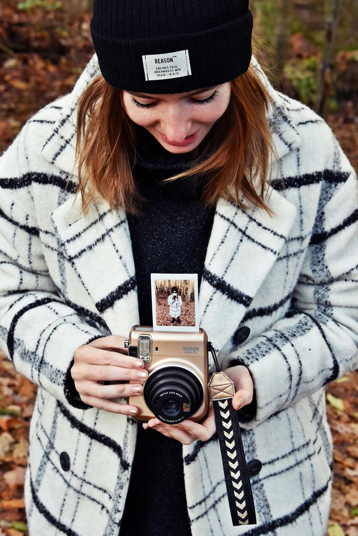 DIY Anleitung - Free Tutorial | Kamera Handschlaufe selber nähen | Fujifilm Instax Mini Kamera #instaxyourlife | luzia pimpinella