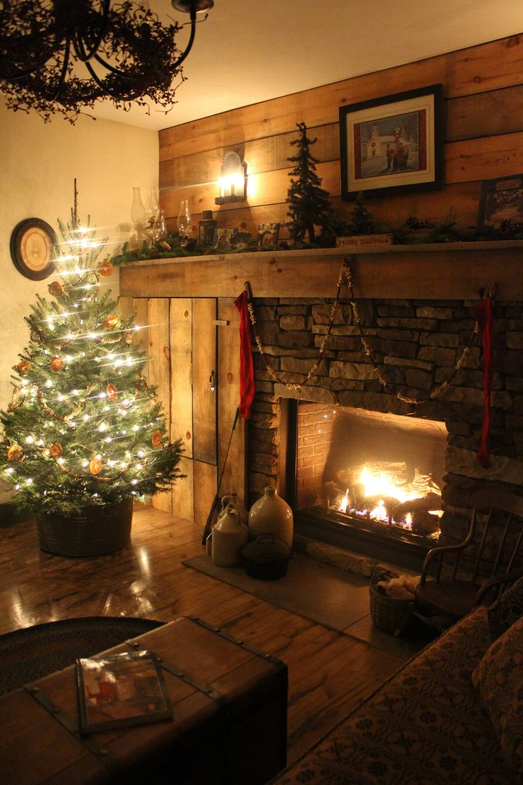 32 gorgeous ways to decorate your living room for christmas for Ways to decorate living room