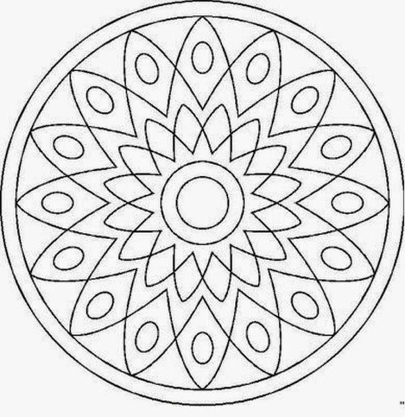 Mandalas para pintar, imprimir y colorear. A través de las diferentes combinaciones de colores, los mandalas producen a su vez diferentes impresiones.  <br><br> <b>mandalasparapintar.blogspot.com</b> <br><br> Muchas gracias por tu visita! Aqui podras encontrar mas de 2.800 mandalas! (4 millones de personas han visto esta pagina)