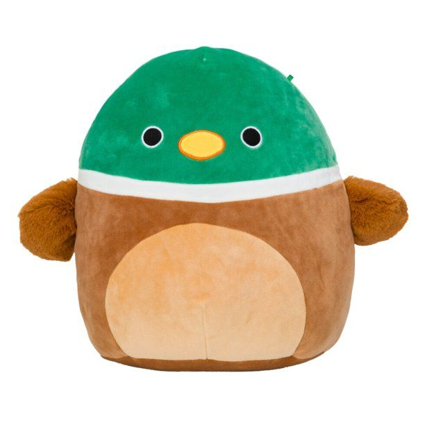 Squishmallow Avery The Duck 8 Inch Stuffed Plush Toy Walmart Com Plush Toy Animal Pillows Plush