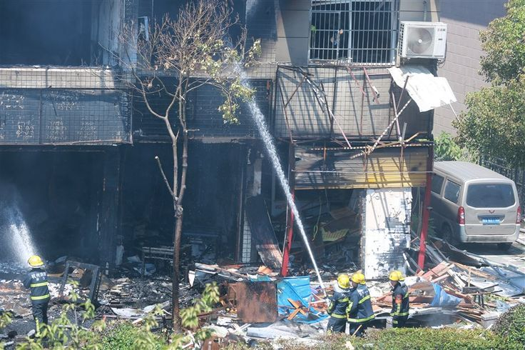 07/21/2017 - 2 killed, 55 injured in gas explosion in Hangzhou | Shanghai Daily