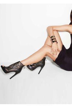 BCBG / VEPA'62 Hakiki Deri Siyah Kadın Topuklu Ayakkabı