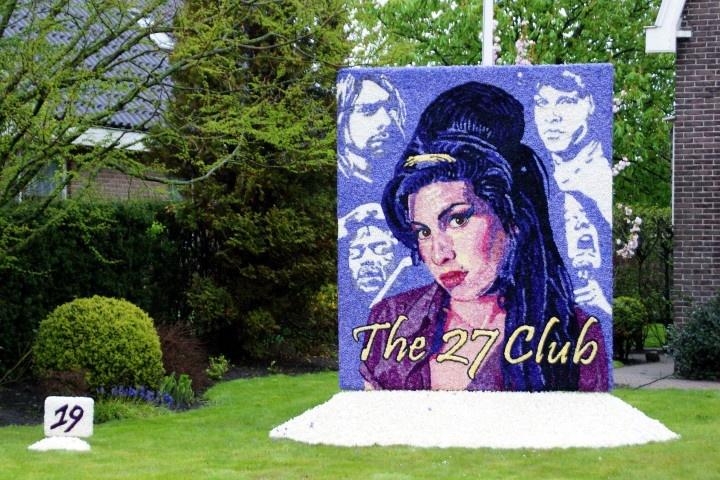 The 27 club met oa Amy Winehouse. Nederlands kampioen mozaïeken 2012