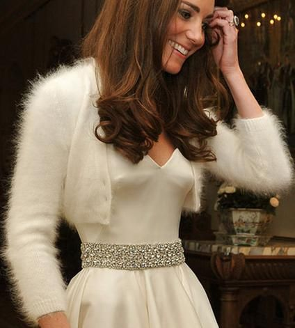 Kate Middleton Style Wedding Bolero...would love to have something like this