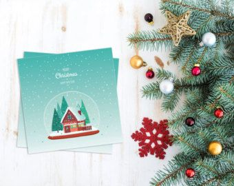 Christmas card or Wall art / Christmas printable / by PeharDesign