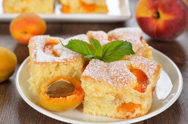 Marillen Blechkuchen