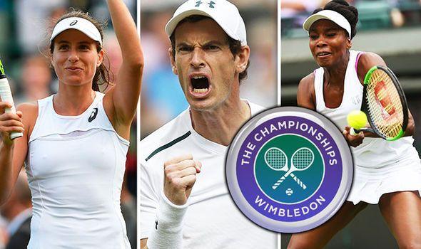 Wimbledon 2017 LIVE: Andy Murray Johanna Konta and Venus Williams latest on day three