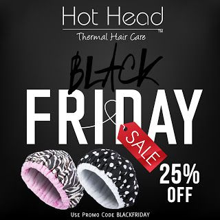 Natural Hair Black Friday sales 2016 from Thermal Hair Care.