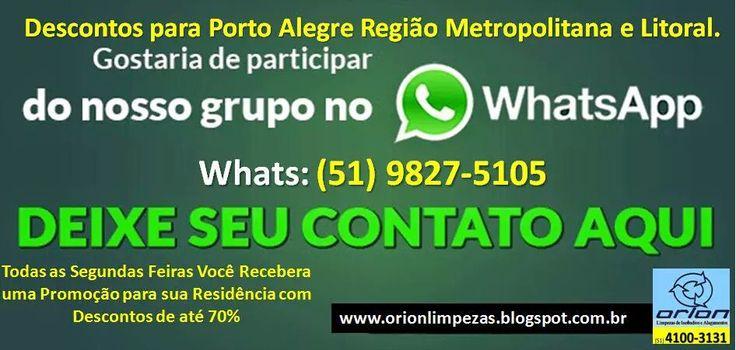 Visite nosso blog: orionlimpezas.blogspot.com