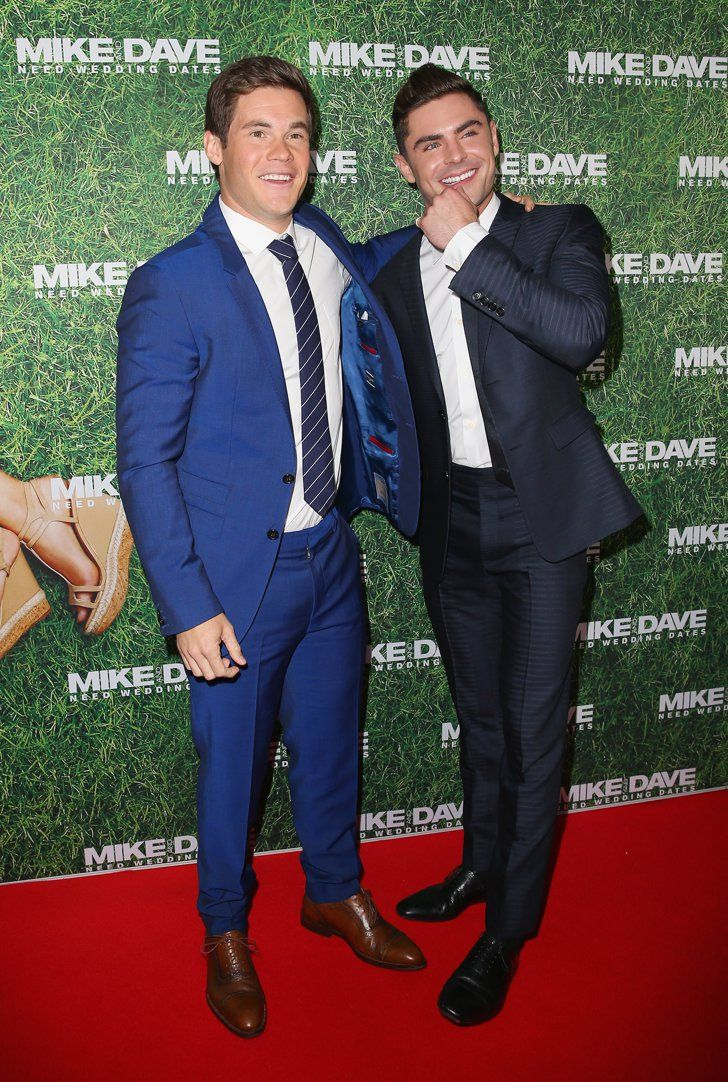 Pin for Later: Zac Efron and Adam DeVine Are Heating Things Up Down Under at Their Latest Premiere  Pictured: Adam DeVine and Zac Efron