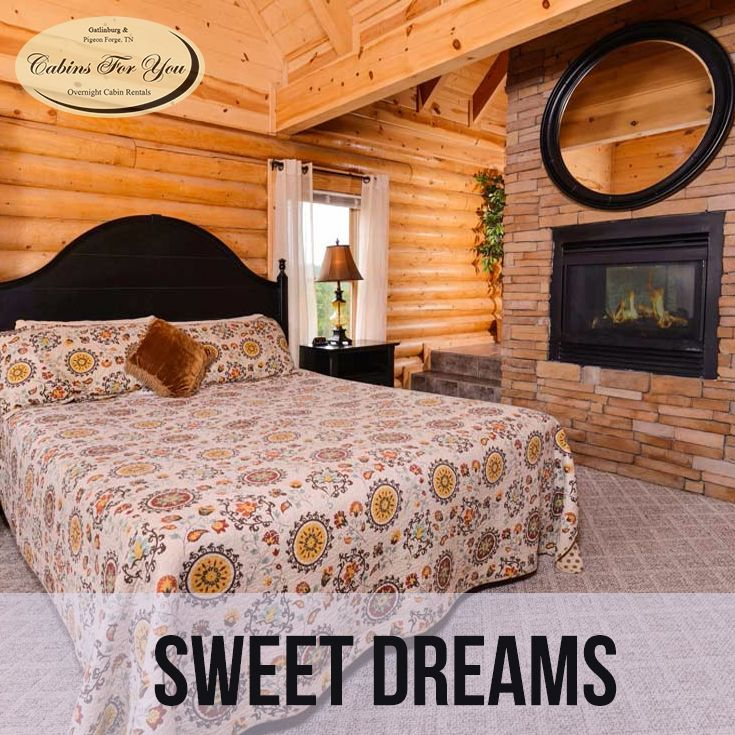 A Beautiful One To Three Bedroom Cabin In Pigeon Forge Tennessee Sweet Dreams Boasts