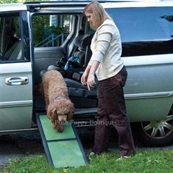 Travel Lite Bi-Fold Pet Ramp - Travel and Safety - Car Accessories Posh Puppy Boutique