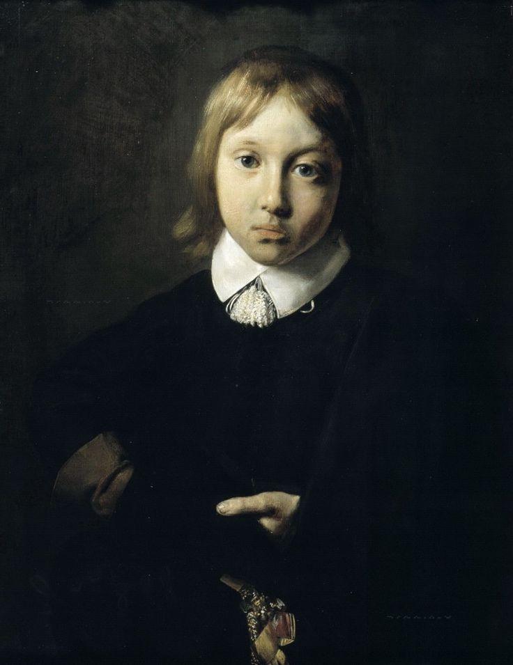 Брай, Ян де - Портрет шестилетнего мальчика. Маурицхёйс, Гаага
