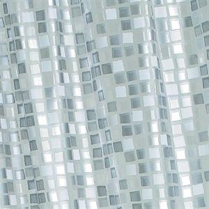 Croydex   Mosaic Silver Shower CurtainBest 25  Silver shower curtain ideas on Pinterest   Black bathroom  . Blue And Silver Shower Curtain. Home Design Ideas