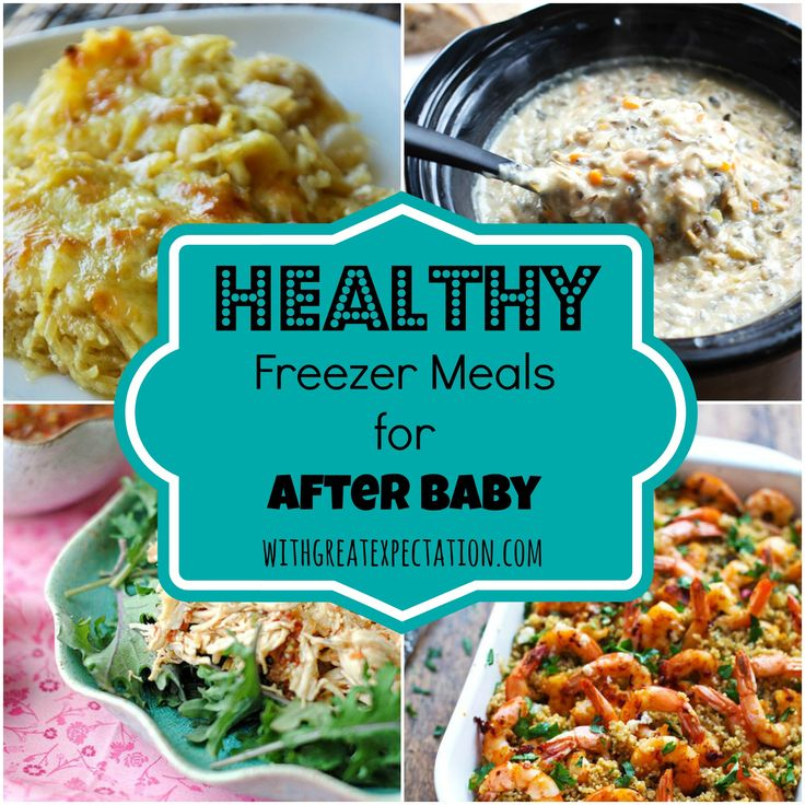 100 Days of Pregnancy: Day 34 {Healthy Freezer Meals for After Baby} - With Great Expectation
