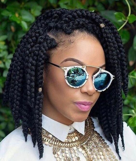60 Totally Chic And Colorful Box Braids Hairstyles To Wear! – Part 67 #bobboxbraidsstyles #colorfulboxbraids
