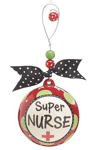 SUPER NURSE - Christmas tree ornament | Nurse Gifts | Ornaments ...