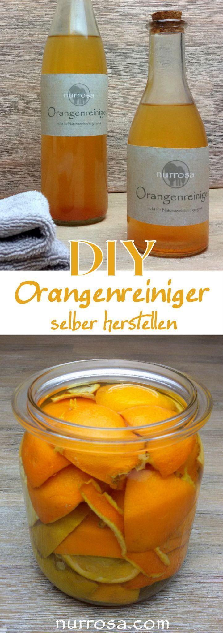 Orangenreiniger ganz einfach selber herstellen Ich weiß nicht wie viele Plastik…