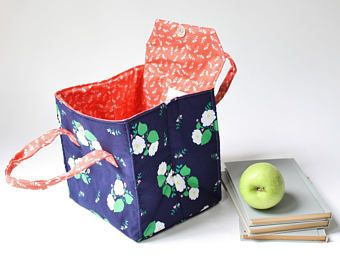 Insulated Lunch Bag in Mimosa  Insulated Lunch Tote  Bento