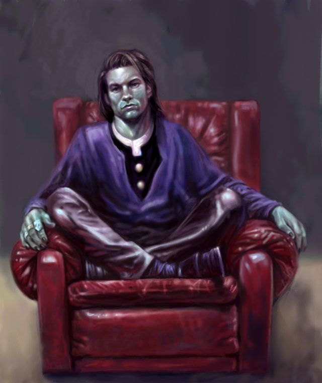 Mercurio - concept art | Vampire the Masquerade: Bloodlines