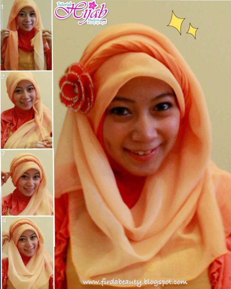 Hijab Tutorial Paris Segi Empat By Angel 399 X 500 45 Kb Jpeg | TUTORIAL HIJAB SIMPEL CANTIK