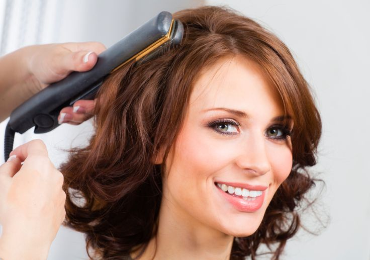 How to Spiral Curl Your Hair With a Flat Iron – ModernMom