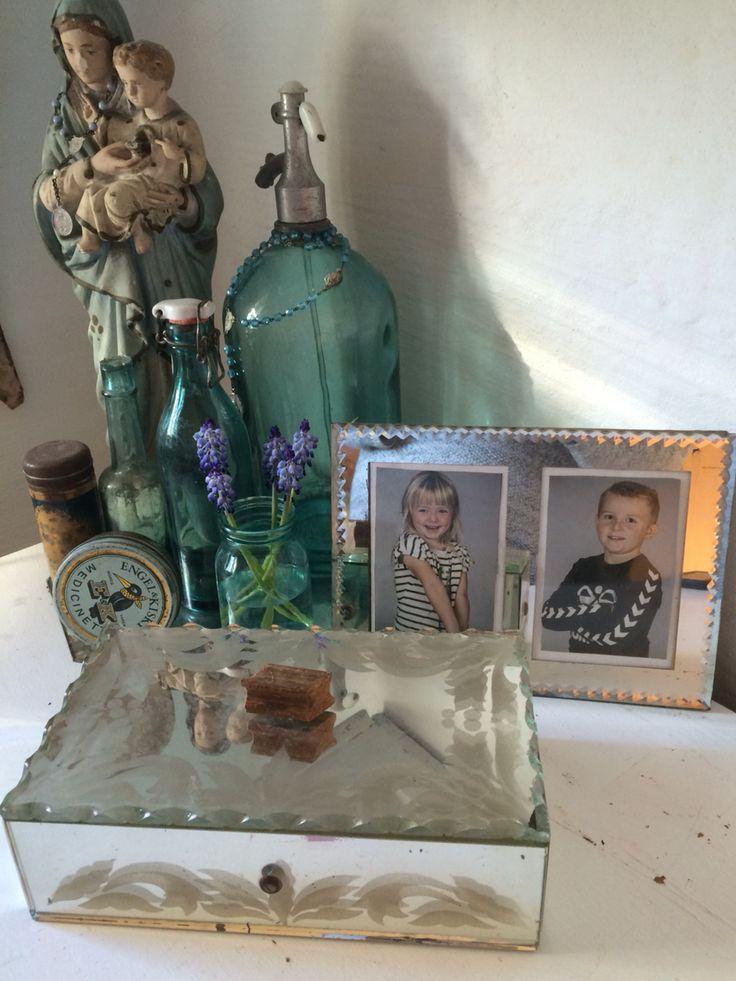 Old mirror box